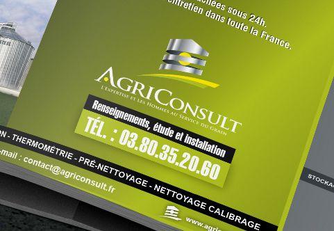 Quatrième de couverture Livret AgriConsult par La Griffe, Agence de communication, design et web à Dijon