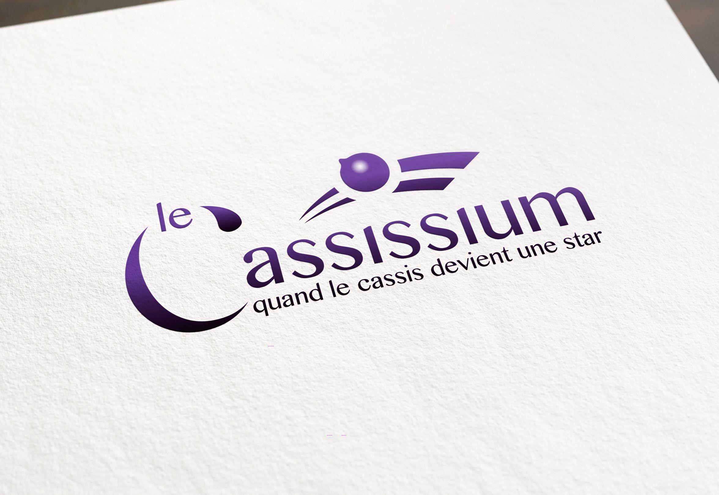 Logo le Cassissium par La Griffe Agence de communication, design et web à Dijon