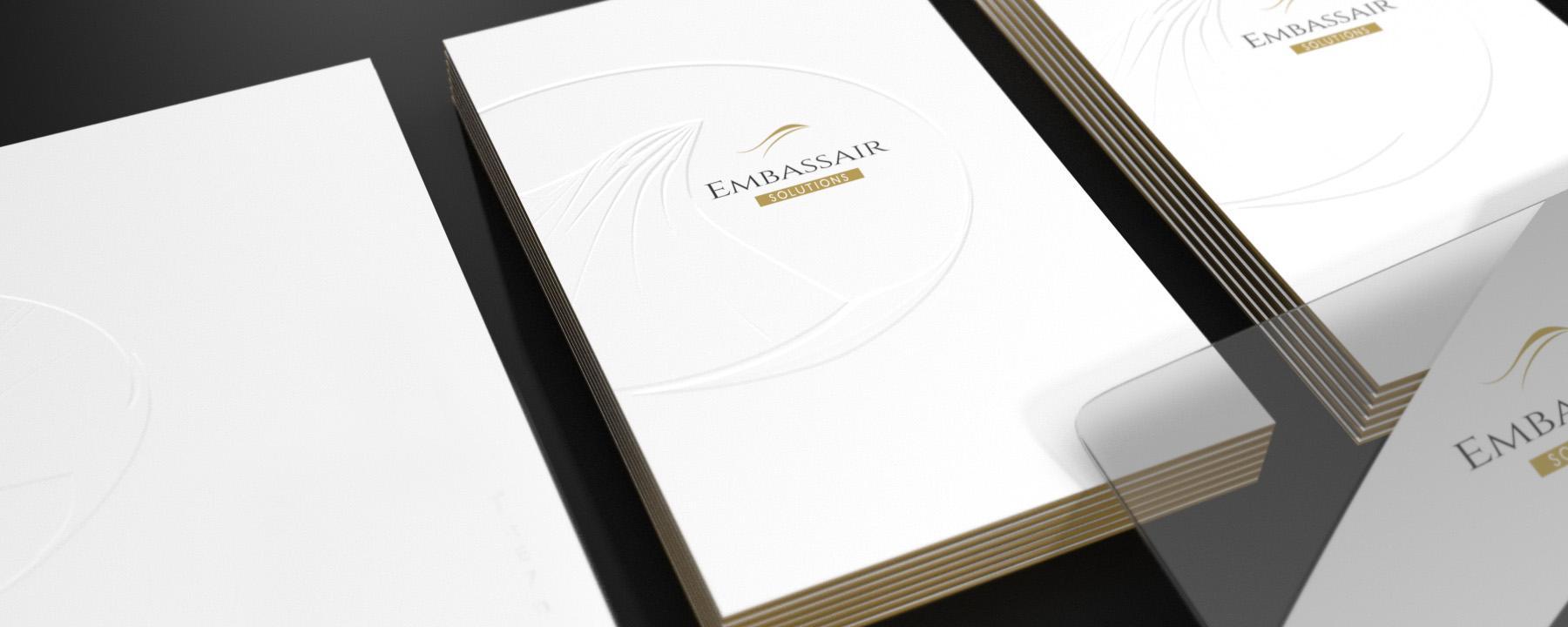 Coffret de Luxe pour Embassair par La Griffe, Agence de communication, design et web à Dijon
