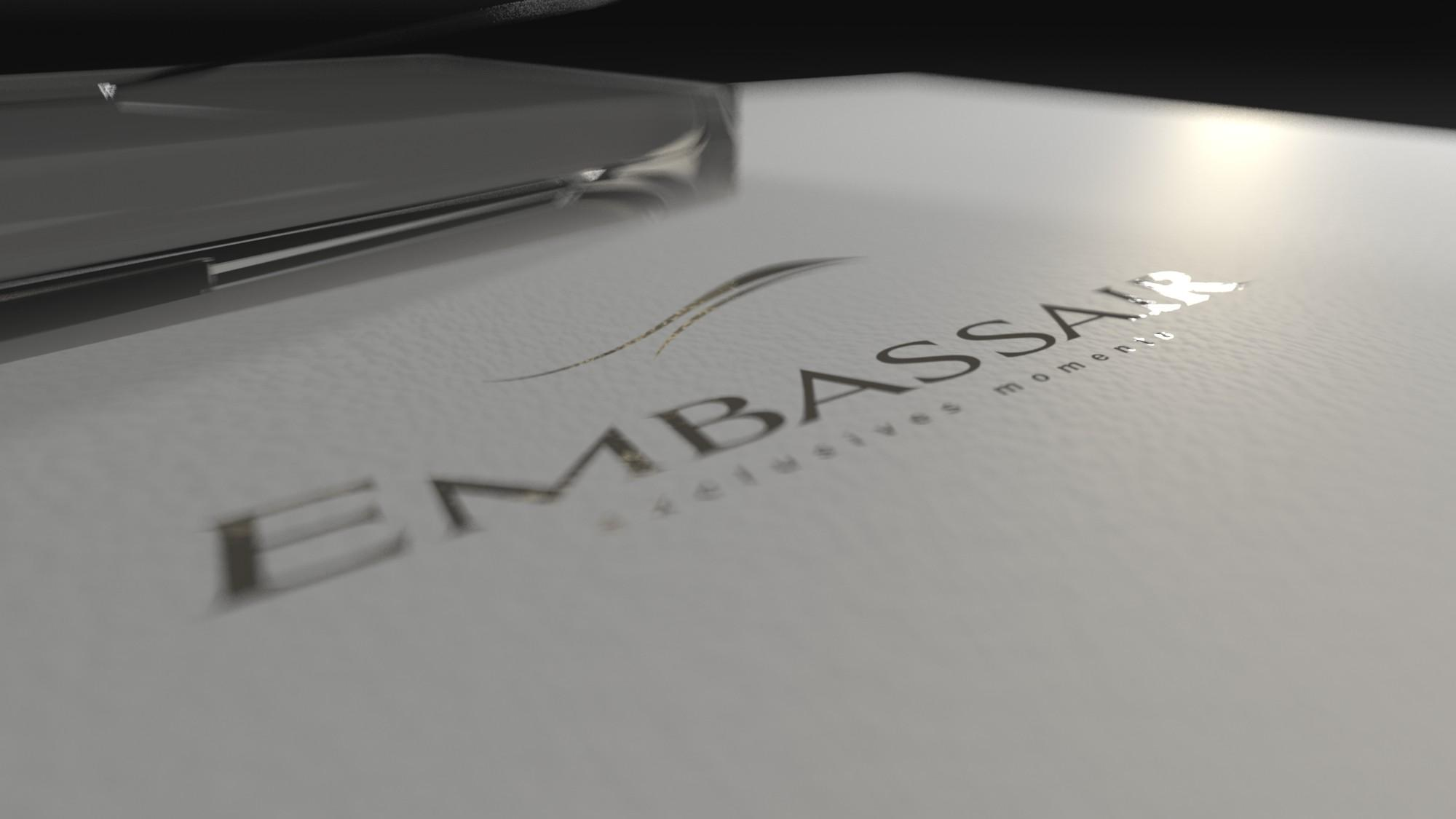 Logo Embassair par La Griffe, Agence de communication, design et web à Dijon
