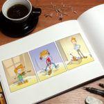 Création d'une mini bande dessinée afin d'illustrer un thème portant sur la musique . Dijon