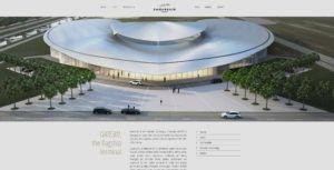 Communication globale pour Embassair : naming identité visuelle, développement du site internet