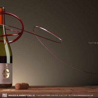 3D dijon : vin